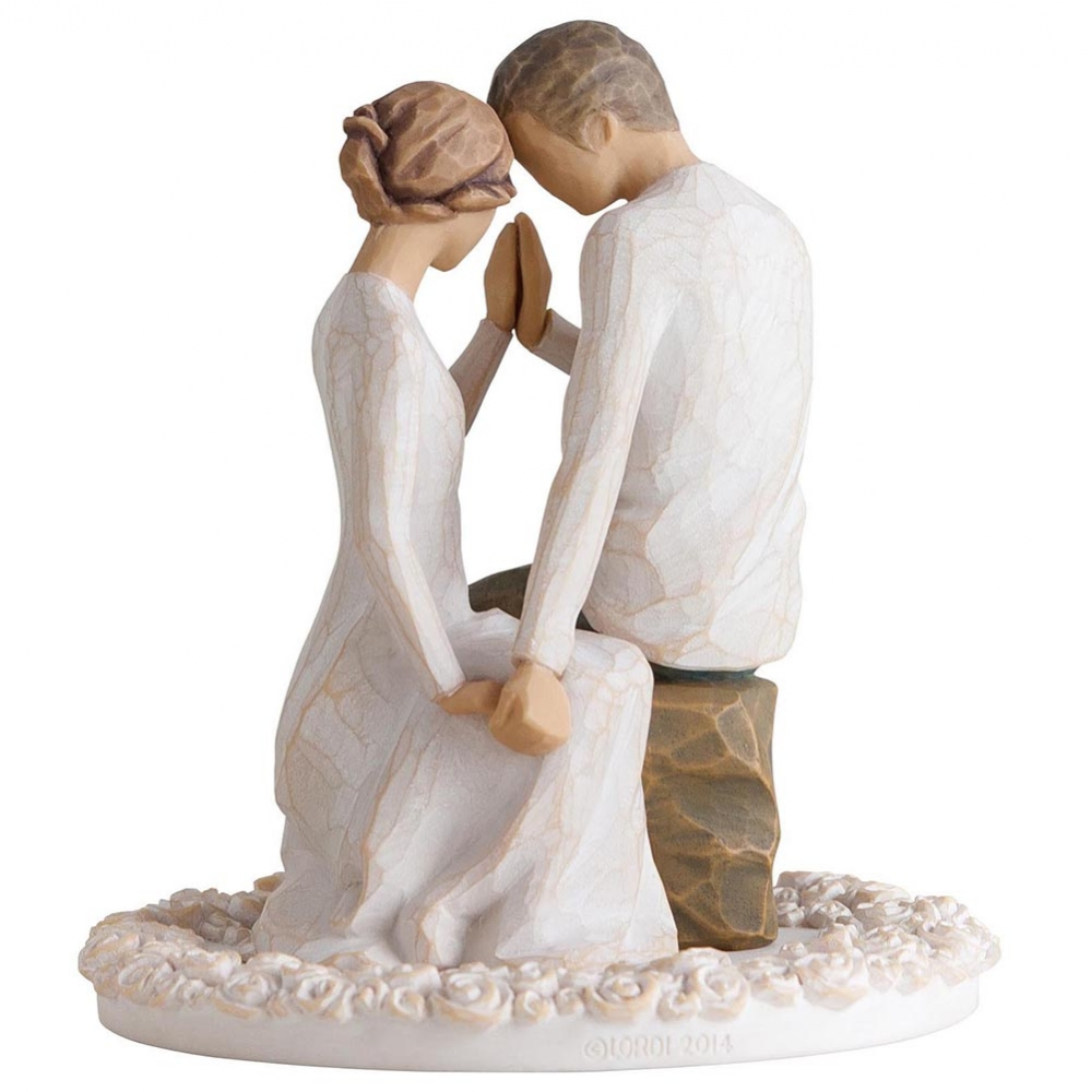 Willow Tree Around You Cake Topper